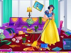 Snow White Messy Room