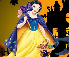 Snow White Pumpkin Decoration