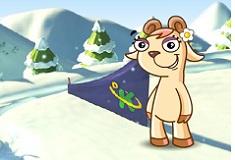 Snowboarding with Doki