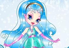 Snowflake Princess Dress Up