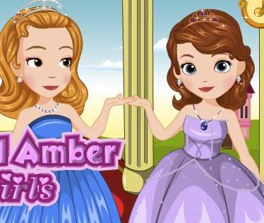 Sofia and Amber Flower Girls