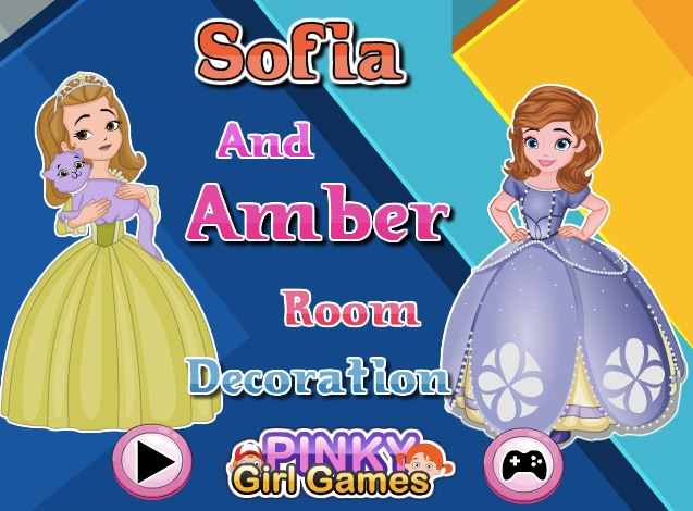 Sofia and Amber Room Decoration