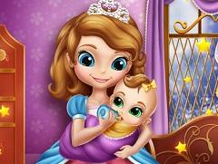 Sofia and Baby Sister
