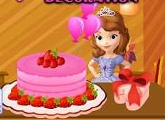 Sofia Cake Decoration