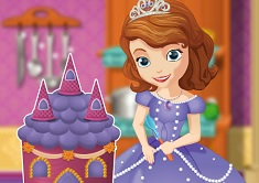 Sofia Cooking Princess Cake