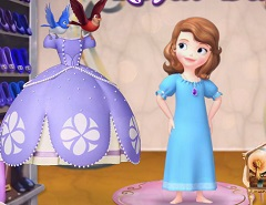 Sofia Dress for a Royal Day