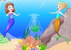 Sofia Mermaid Create Scene