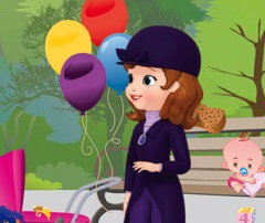 Sofia the First and the Baby Carriage