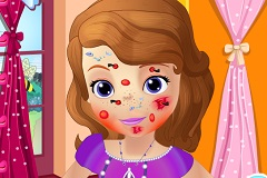 Sofia the First Bee Sting - Jogos Online