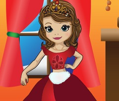 Sofia The First Christmas Dress Up