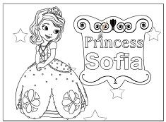 Sofia the first coloring sofia the first games for Sofia the first coloring pages games