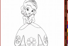 Sofia the First Coloring