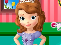 Sofia the First Cooking Vegetables