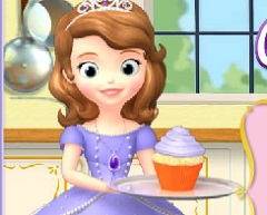 Sofia The First Cupcake Party