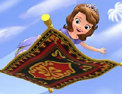 Sofia the First Flying Carpet Adventure