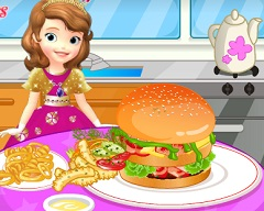 Sofia the First Hamburger