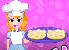 Sofia the First Hello Kitty Pie