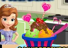 Sofia the First Ice Cream