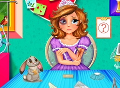 Sofia the First Injured