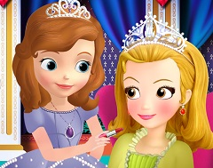 Sofia the First Make Up Artist