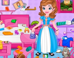 SOFIA RAINBOW ROOM CLEANING - SOFIA THE FIRST GAMES