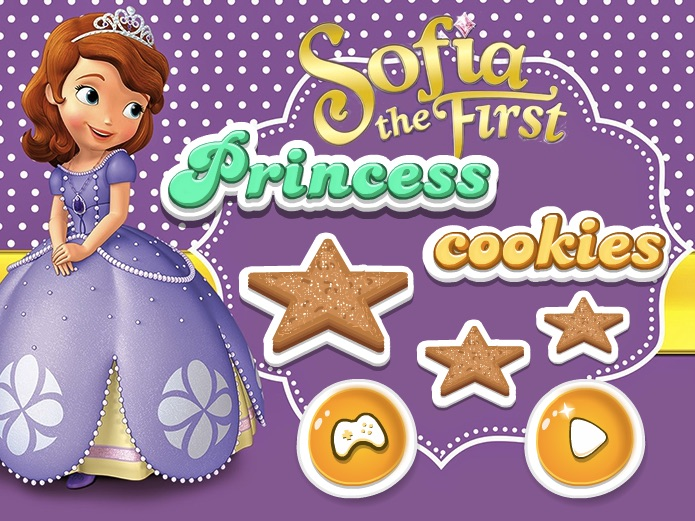 Sofia the First Princess Cookies