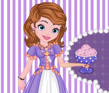 Sofia the First Rose Ice Cream