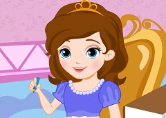 Sofia the First School Slacking