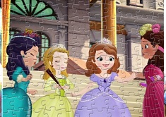 Sofia the First Sort My Jigsaw