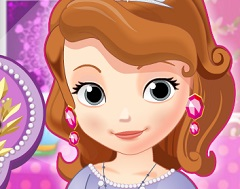 Sofia the First Washing Clothes