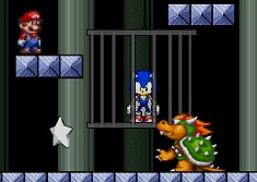 Sonic Saved by Mario