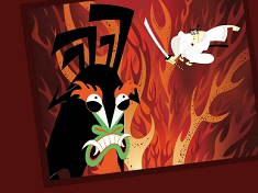 Sort My Tiles Samurai Jack