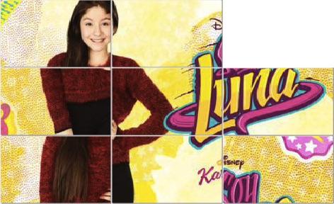 Soy Luna Sliding Puzzle