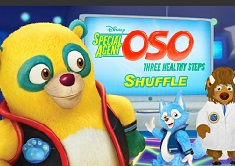 Special Agent Oso Three Healthy Steps