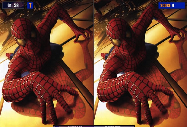 Spiderman Differences