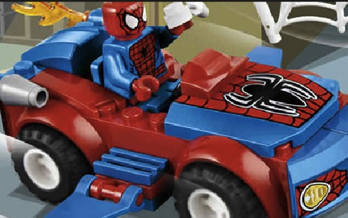 Spiderman Lego Car