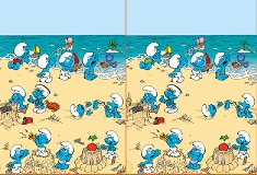 Spot the difference smurfs games spot the difference altavistaventures Choice Image