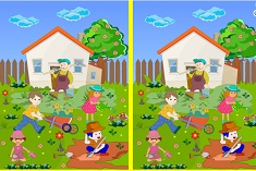 Spot The Difference Gardening Differences Games