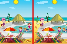 Spot The Difference Swimming Pool Differences Games
