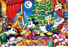 Spot the Gifts in Cartoon Town