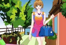Spring Fashion Girl