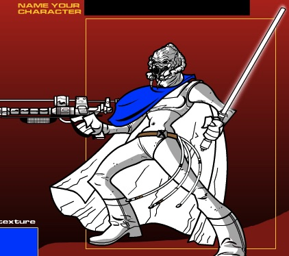 Star Wars Coloring Game