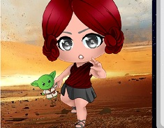 Star Wars Geek Chibi