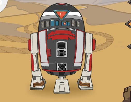 Star Wars Robot Builder