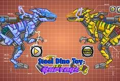 Steel Dino Toy Mechanic Raptors