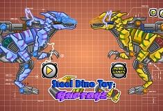 Steel Dino Toy Mechanic Raptors