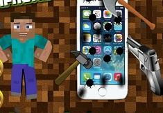 Steve Destroy Iphone