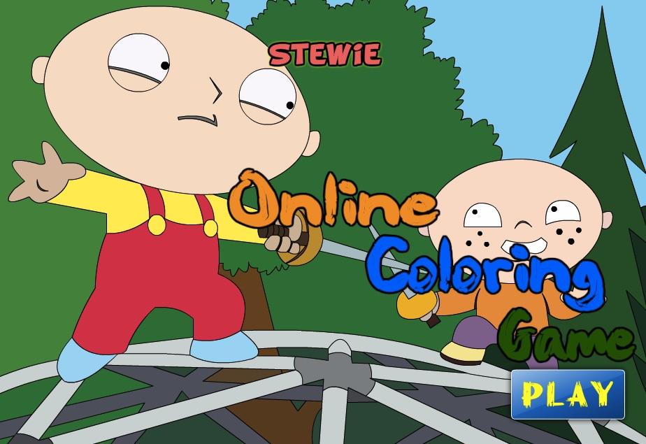 Stewie Coloring