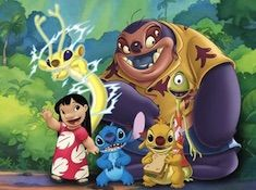 Stitch and Friends Puzzle