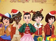 A Stranger Things Christmas.Stranger Things Christmas Party Stranger Things Games